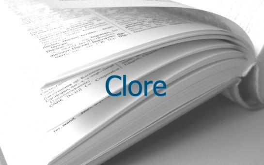Definition Clore Conjugaison Le Parisien