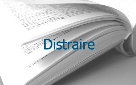 Definition Distraire Conjugaison Le Parisien
