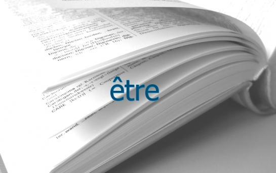 Definition Etre Conjugaison Le Parisien