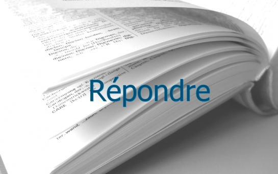 Definition Repondre Conjugaison Le Parisien